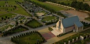 Lot nad Cmentarzem na Bielanach