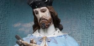 Figurka sw. Jana Nepomucena przy kosciele sw. Jozefa w Kalwarii Zebrzydowskiej